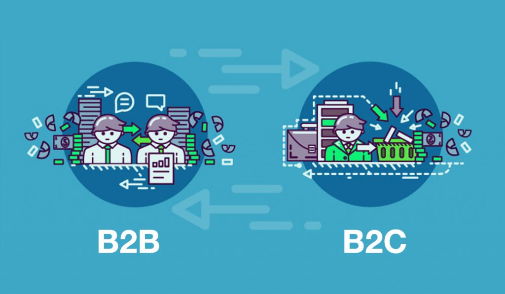 Diferencias entre los modelos de negocio Business to Business (B2B) y Business to Consumer (B2C